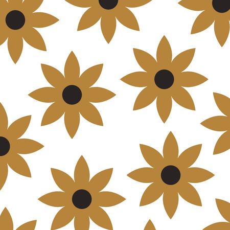 christmas poinsettia flower decoration celebration seamless pattern vector illustration