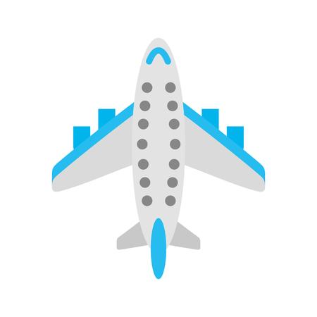 飛行機輸送商業旅客ビジネスベクトルイラスト。
