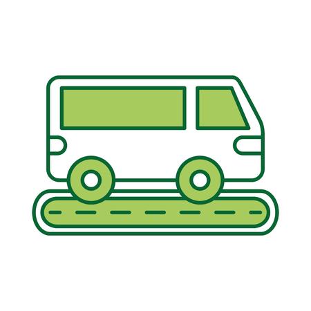 Van auto straat transport voertuig wiel.