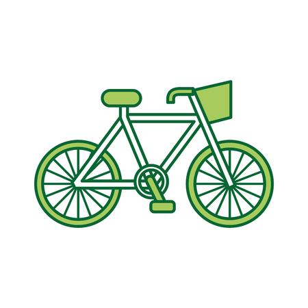 従来の自転車輸送エコロジー車両。