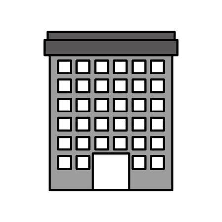 Building facade illustration. Ilustração