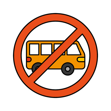 いいえ車やノーパーキング記号は、ベクトルイラストを禁止します