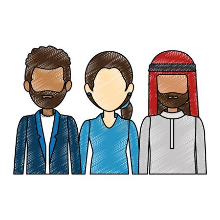 group of business people vector illustration design Stok Fotoğraf - 85728965