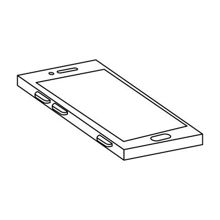 mobile device: smartphone device isolated icon vector illustration design