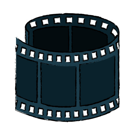tape film isolated icon vector illustration design
