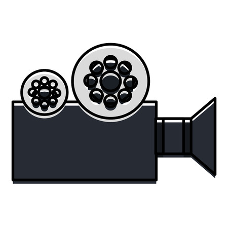film video camera icon vector illustration design Illustration