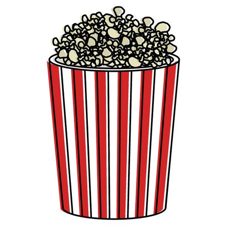 pop corn isolated icon vector illustration design Ilustrace