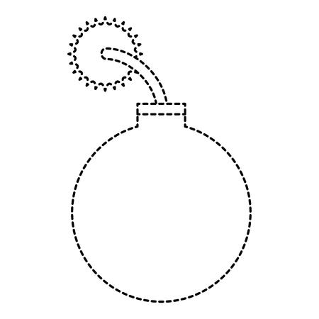 ブーム爆発的な分離アイコンベクトルイラストデザイン