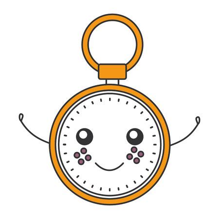 クロノメータータイマー文字ベクトルイラストデザイン