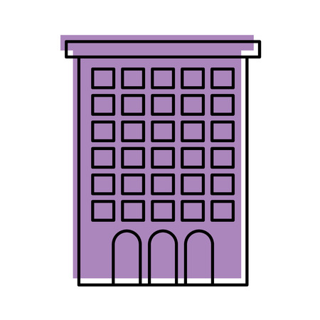 buildings property business or apartment residence vector illustration