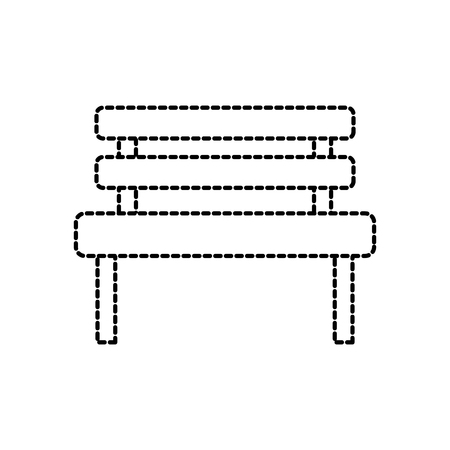 벤치 공원 안락 의자 장식 벡터 일러스트 레이션 휴식 일러스트