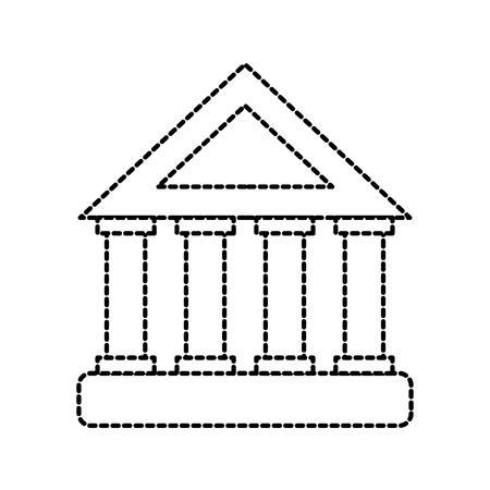 銀行ビル投資財務コンセプトベクトルイラスト