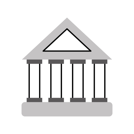 bank building investment financial concept vector illustration