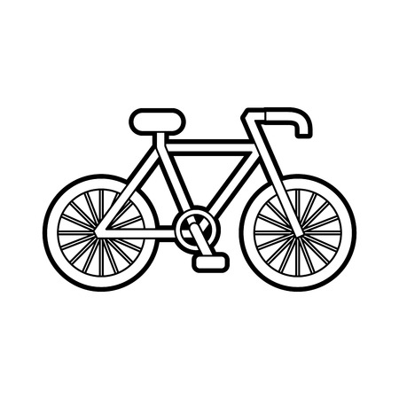 自転車輸送エコロジー車両 伝統的なベクトルイラスト 写真素材 - 85823336