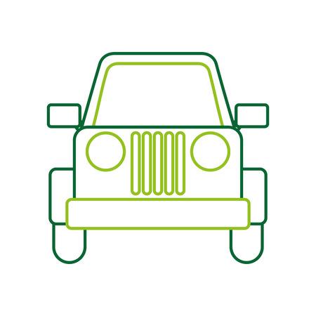 ベクトル図をキャンプ車車両輸送