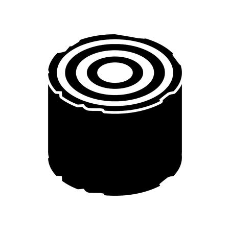 Madera de madera de camping de madera de la ilustración del vector del tronco del tocón Foto de archivo - 86002613