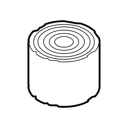 キャンプ木材木材薪切り株ベクトル図 写真素材 - 86002734