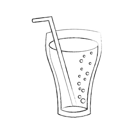 glass cup cola drink bubbles refresment liquid