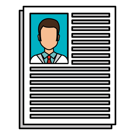 doctor curriculum isolated icon vector illustration design Illustration