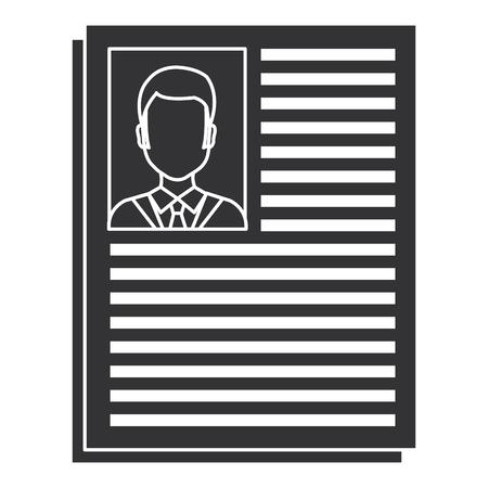 arts curriculum geïsoleerde pictogram vector illustratie ontwerp