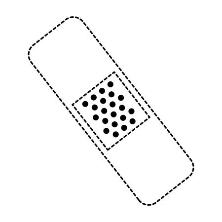 cure bandages isolated icon vector illustration design 版權商用圖片 - 86141626