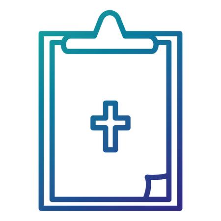 pharmacy symbol: medical order isolated icon vector illustration design