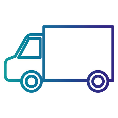 car van isolated icon vector illustration design