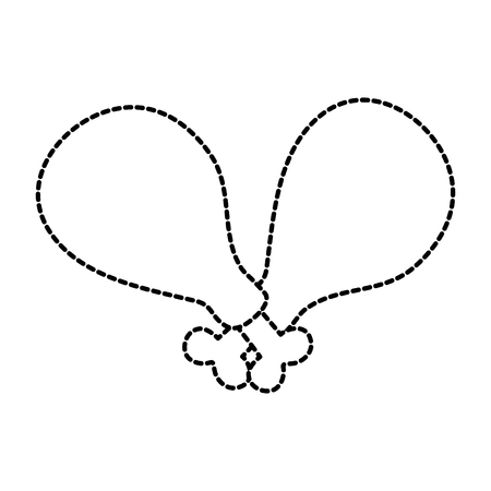 ファーストフード ロースト チキン メニュー レストラン ベクトル図  イラスト・ベクター素材