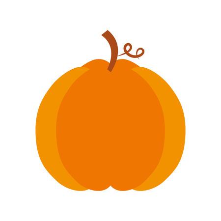 autumn seasonal pupmkin harvest nature vector illustration Imagens - 86100625
