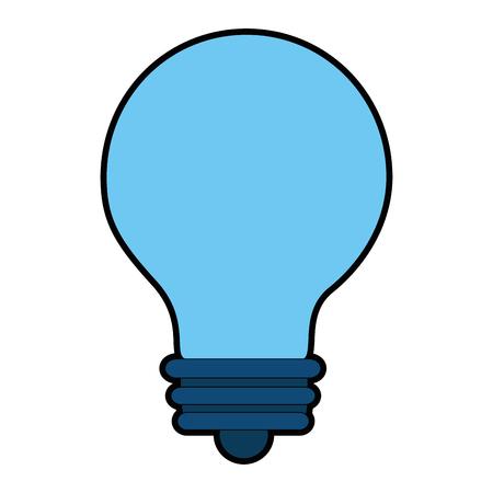 bulb light isolated icon vector illustration design Banco de Imagens