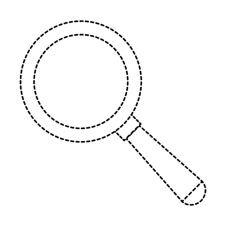 magnifying glass isolated icon vector illustration design Stok Fotoğraf - 86159194