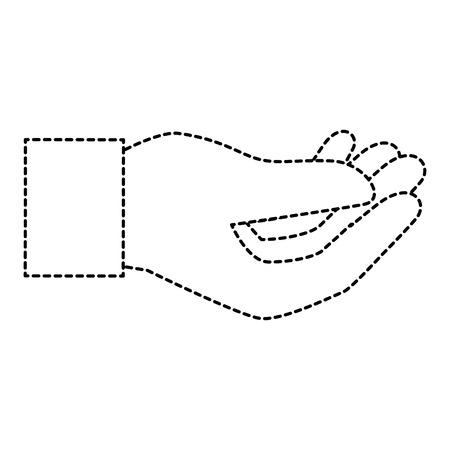 human hand catching icon vector illustration design Stock Photo