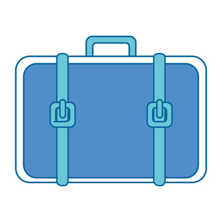 storage: portfolio briefcase isolated icon vector illustration design Stock Photo