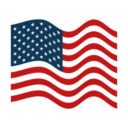 united states of america map with flag and fireworks vector rh 123rf com us flag vector clipart us flag vector free download