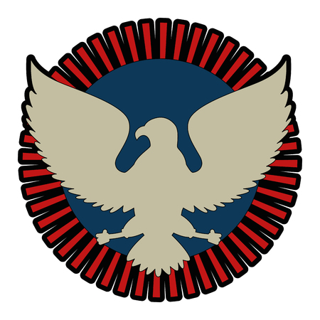United states of america eagle Иллюстрация