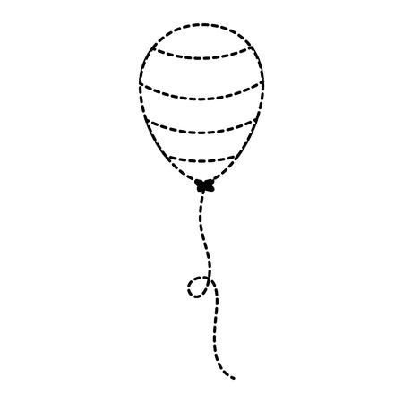 united states of america balloon air vector illustration design
