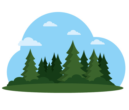 summer picnic outdoor vector illustration graphic design