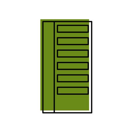Gebäude Business Office oder Wohnung Wohn städtischen Struktur Vektor-Illustration Standard-Bild - 86318640