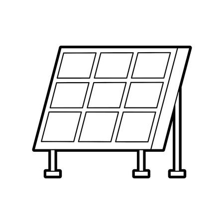 ソーラーパネル現代技術代替エネルギー源ベクトルイラスト 写真素材 - 86318677