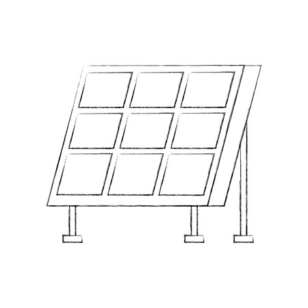 ソーラー パネル最新技術代替エネルギー ソース ベクトル イラスト 写真素材 - 86318695