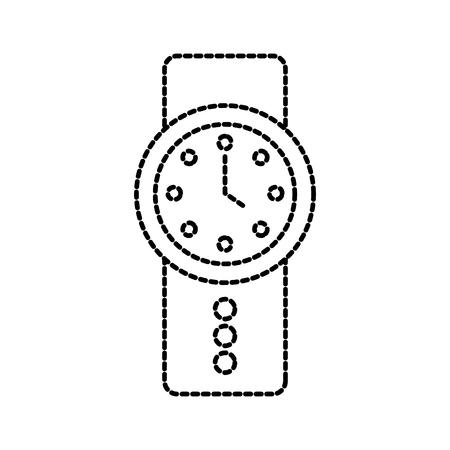 腕時計タイムビジネスエレガンスアイコンベクトルイラスト