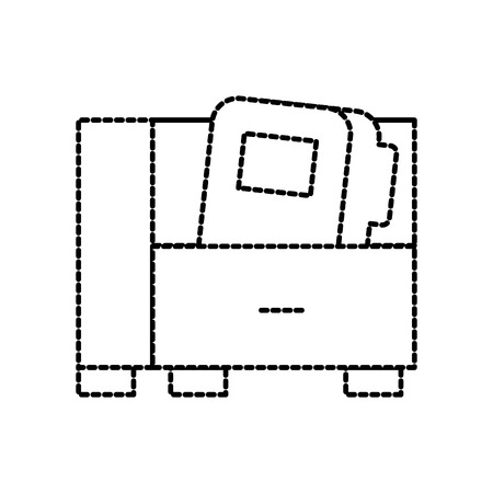 사무실 캐비닛 및 폴더 파일 문서 저장소 벡터 일러스트 레이션 일러스트