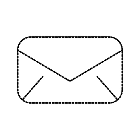 電子メール封筒メッセージ通信閉じるベクトルイラスト  イラスト・ベクター素材