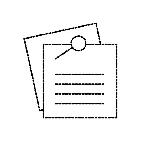 note paper sheet for reminder and memo vector illustration