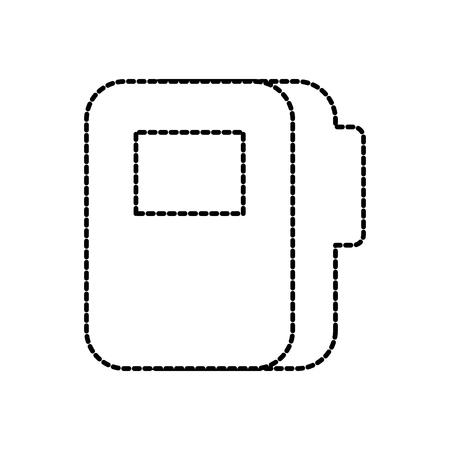 map bestand document levering kantoor vectorillustratie