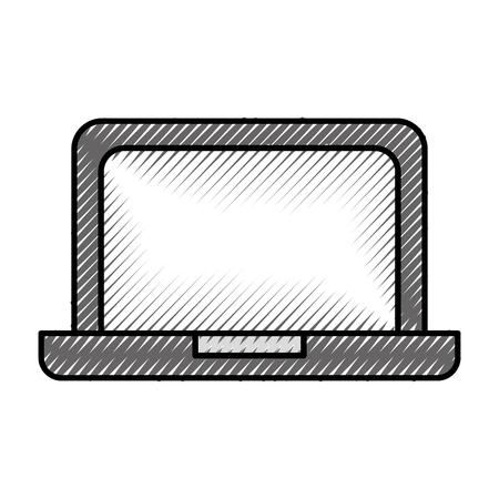 노트북 장치 기술 무선 지원 벡터 일러스트 레이션 스톡 콘텐츠 - 86318964