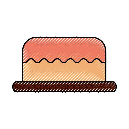 ケーキおいしいベリーベーカリーペストリー食品フレッシュベクターイラスト