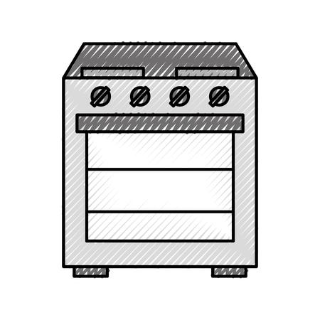 Applikation ofen küche maschine bild icon illustration Standard-Bild - 86319031
