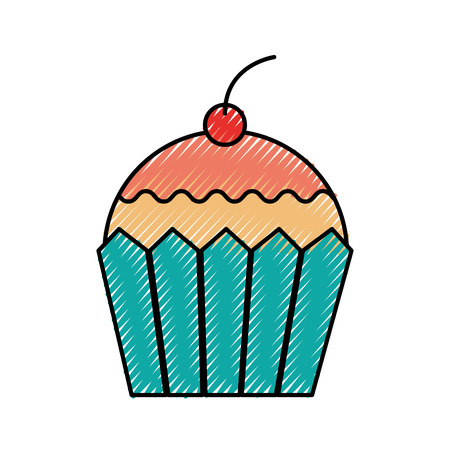 cupcake dessert pastry product food fresh icon