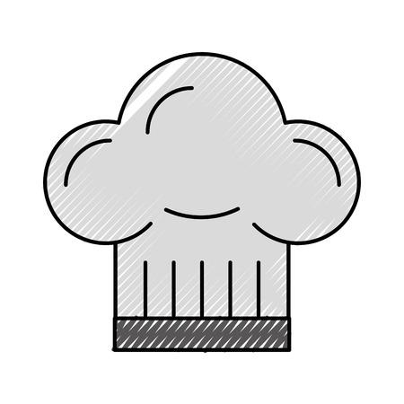 보스 요리사 모자 액세서리 유니폼 엠블럼 아이콘 ilustration